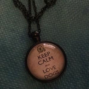 Jewelry - Love DOGS NECKLACE